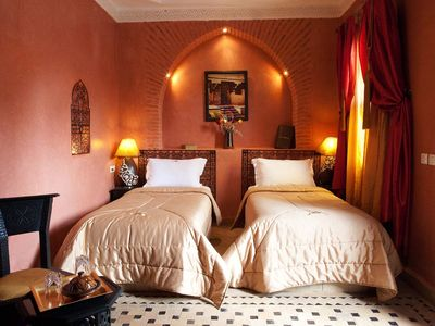 Photo for Riad La Rose D'orient, Twin 2pax