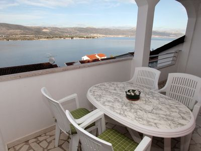 Photo for Apartment Maja  A3(4+2)  - Mastrinka, Island Ciovo, Croatia