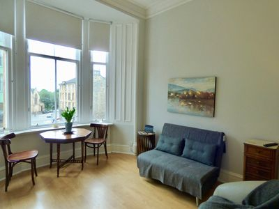 Photo for The Derby Suite - Free wifi, Walk to Kelvingrove Museum, Park and City Centre