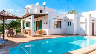 Photo for Villa Cala Egos Dos is a three bedroom villa that is fitted with a lovely pool area, located in the