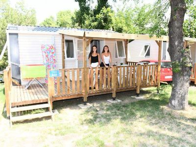 Photo for Camping Parc Bellevue *** - Mobile home Venus 3 Rooms 4 People