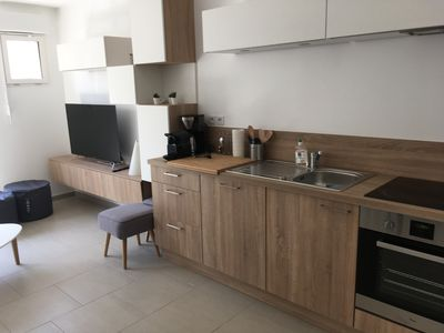 Photo for WIMEREUX T3 duplex 58m2 Close to sea 110 € / night 630 € / week