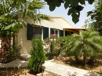 Photo for Nice bungalow right on the sandy beach