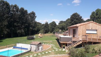 small country cottage with swimming pool, jacuzzi and sauna, Futuroscope  rock - Chalandray