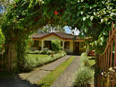 Photo for Beautiful and Private home in the Heart of the Village with great Volcano views!