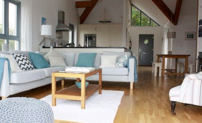 Photo for Light Airy Modern Cottage: comfortable interior, village centre, great local pub