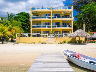 Photo for 2nd Floor, 3BR Condo on the Beach w/Pool, Kayaks, Private Dock & Large Balcony