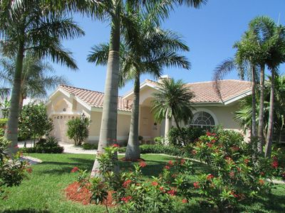 Photo for Villa Lady Jane  - SE Cape Coral, 3b/2ba Pool Home, Gulf Access, Electric and solar heated Pool & Sp