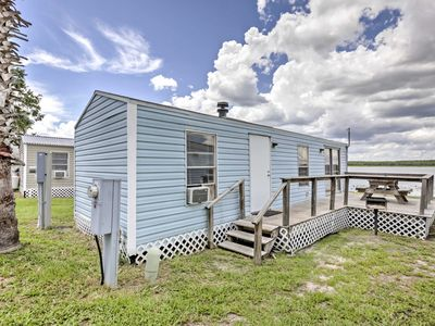 Photo for Cozy Lakefront Cabin in Ocala w/ Deck & Grill!