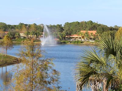 Photo for 4 BR-near DISNEY - Incredible LAKE VIEW - Private pool & more!