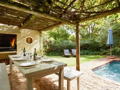 Photo for Quaint & Quirky Cottage in the heart of Franschhoek Village