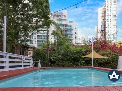 Sextant | Edgewater Place | Private Pool + Hot Tub | 10 mins to South Beach