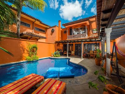 Photo for New to VRBO Mar-April Special!! 3 BR Villa Private Pool steps to Langosta Beach