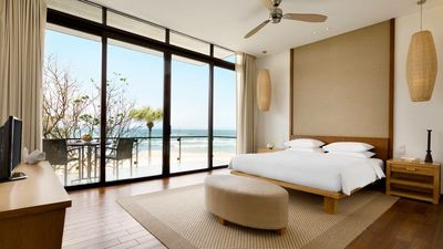 Photo for Beachfront villas in HYATT resort/3BRS