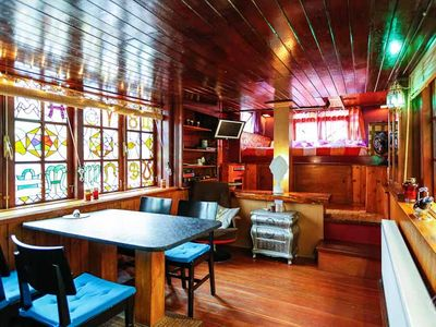 Photo for Charming, traditional, two bedroom houseboat apartment, that can accommodate four people, in the Can