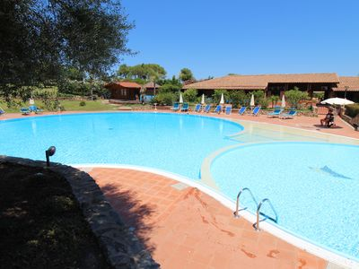 Photo for BEACH AT 200 METERS AND 50 METERS SWIMMING POOL, AIR CONDITIONING, PARKING PLACE