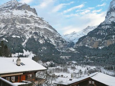Photo for House in the center of Grindelwald with Parking, Internet, Washing machine, Balcony (38419)