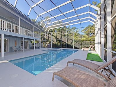 Photo for Spacious 4 Bedroom Home with private pool and hot tub