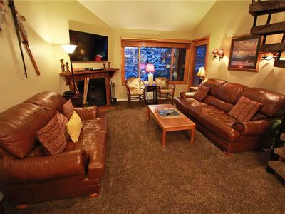 Photo for Snow Flower Condo #73, 2 bed/loft 3 bath, sleeps 10 SKI-IN/SKI-OUT to Park City Mountain Resort