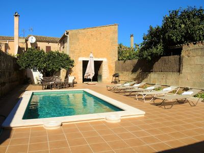 Photo for Casa Campet - Townhouse with swimmingpool in Algaida, FREE WIFI