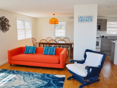 Photo for New to market. Serene seaside getaway with ocean and Nubble lighthouse views!