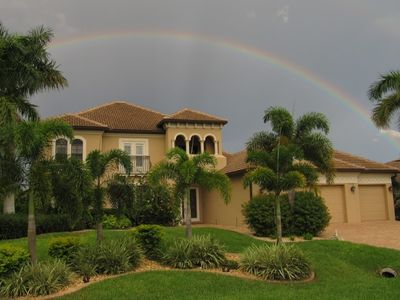 Photo for Soleil Brillant - Luxury Lakefront Home with Incredible Pool Area