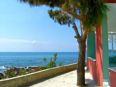 "Photo for 2 + 1 Apartment ""inci"", the ""pearl"" right on the cliff to the sea in Okurcalar"