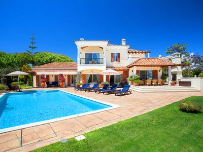 Photo for Quinta do Lago villa with golf views and private pool A307