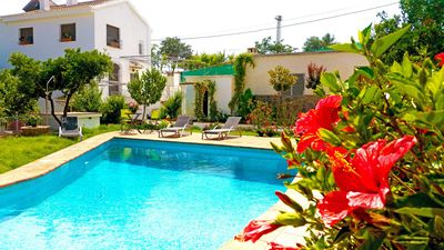 Photo for Luxurious 19th Century Villa with Orange Fountains Gardens and Private Pool