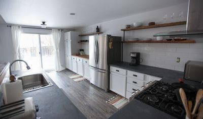Photo for Chic Remodeled Breezy, Fenced Yard, BBQ, Walk to River & Old Mill