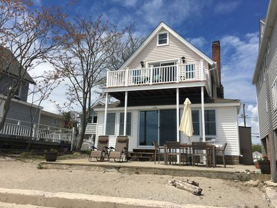 Enjoyable Direct Waterfront Beach House Milford Home Remodeling Inspirations Propsscottssportslandcom