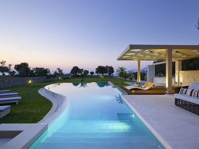 Photo for ABSOLUTE SEAFRONT PRIVATE FAMILY VILLA