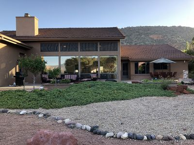 Photo for Lux Sedona Spectacle! Main & Guest Houses with Views of Red Rocks!