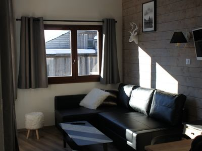 Photo for Charming apartment on the slopes, south balcony