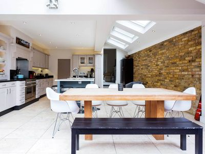 Photo for Stylish & Spacious 4BR with garden, easy way to Central London, by Veeve