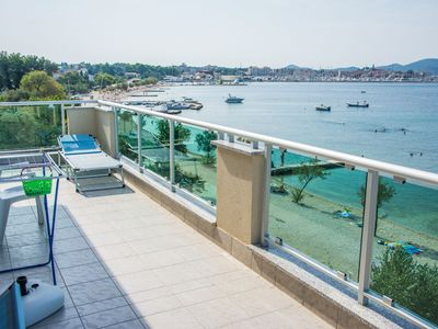 Photo for Apartments Citrine on the beach (14553-A2) - Biograd