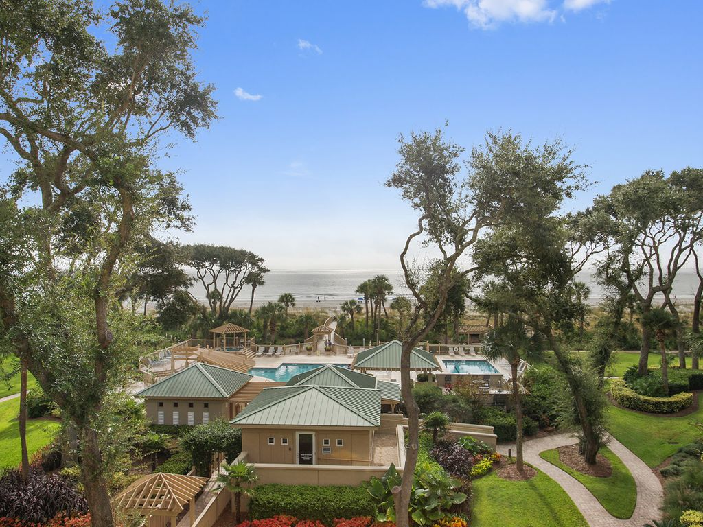 Hilton Head Island Oceanfront 2 Bedroom Rental Villa Condo Palmetto Dunes Hilton Head South