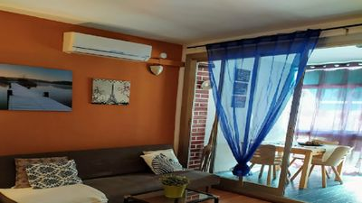 Photo for Cozy apartment near the sea located in a tourist area / IDEAL A COUPLES