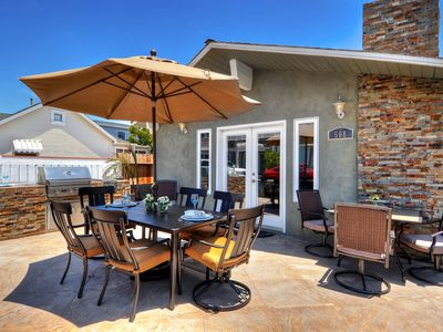 Photo for LARGE PATIO & BBQ in NEWPORT BEACH CENTRAL LOCATION BEST Single Family Home!