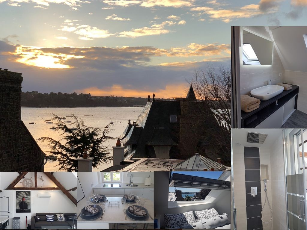 Location Saint-Malo solidor vue mer