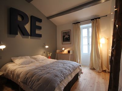 Photo for Renovated and full of charm in the village of ARS EN RE