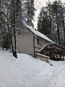 Photo for The Rhoads Retreat is in the beautiful Sierra Nevada Moutains on Scenic Hwy 4