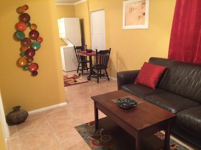 Photo for Cute 1 bedroom 1 bath villa with washer/dryer