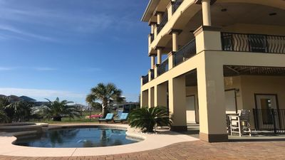 Photo for Sea Turtle Resort-Private Pool-Elevator- Canal-House- 3BR/3B Sleeps 10