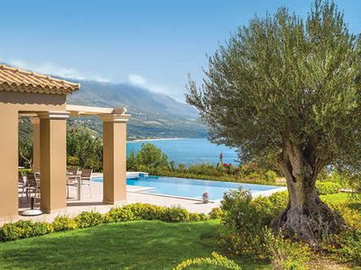 Photo for Great sea views, an elegant villa and pool and all modern comforts, close to beach and resort