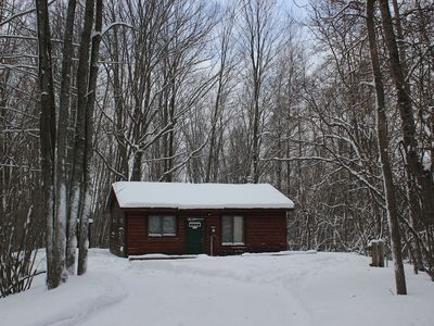 Photo for The Aubert Den, Log Cabin Located In The Heart Of The Manistee National Forest