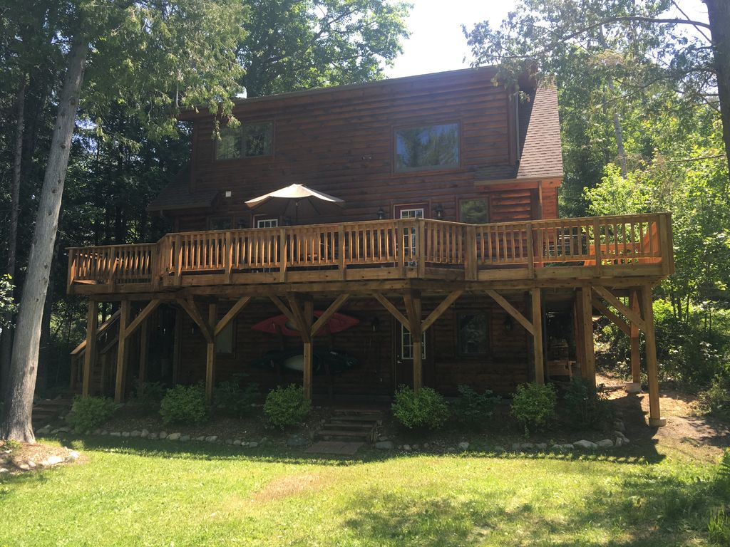 sidell s sturgeon river log cabin vrbo sidell s sturgeon river log cabin snowmobile ski snow shoe cedar sauna