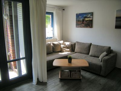 Photo for Modern holiday apartment for 2 people directly on the beach - Free Wi-Fi