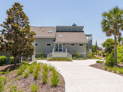 Photo for 5-Star Oceanfront Home! Water Views! Screened Porch & Decks! Sleeps 10!