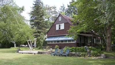 Photo for Charming Lakefront Cottage - Most Desirable Location on Keuka Lake